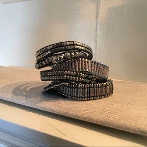 Ipanema 7 Strand magnetic closure Bracelet